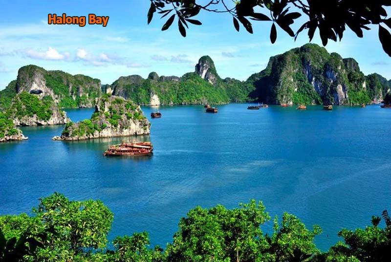 Halong Bay scenery