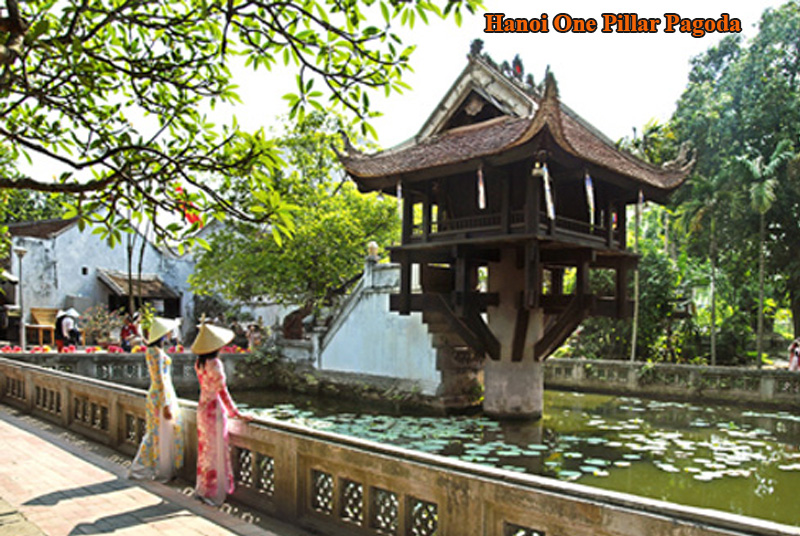 One Pilar Pagoda (a thousand years old)