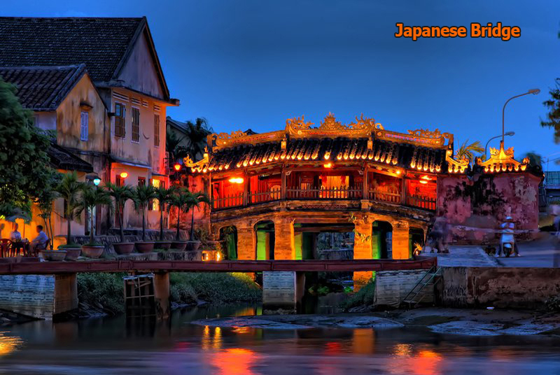 Japenese Bridge in Hoi An