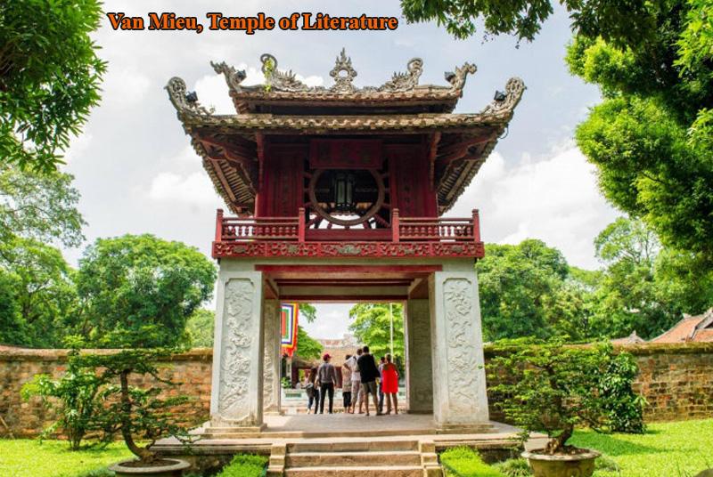 Van Mieu, Temple of literature